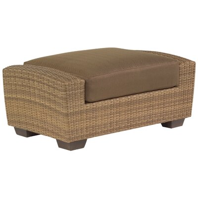 Saddleback Ottoman with Cushion