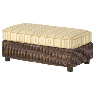 Sonoma Half Ottoman with Cushion