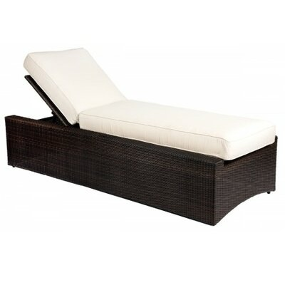 All Weather Serene Reclining Chaise Lounge Cushion 1169 Item Image