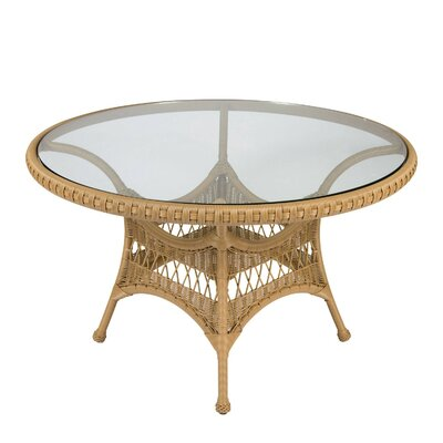 Sommerwind Round Wicker Dining Table 3444 Product Photo