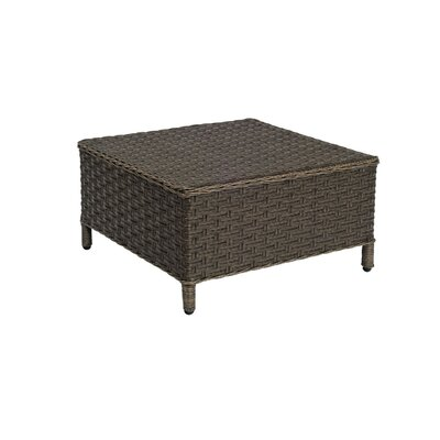 Savannah Ottoman Cushion Color: Canvas Spa