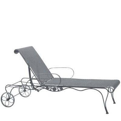 Briarwood Chaise Lounge Finish: Hammered White