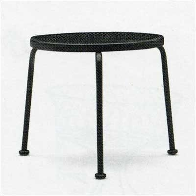 Mesh Top Occasional Stackable Side Table Finish: Graphite