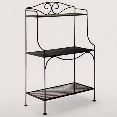 Lease to own Baker's Rack Finish: Hammered Pewte...