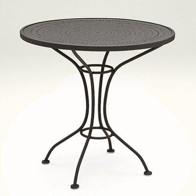 Parisienne Round Bistro Table Pattern Metal Top Twilight picture
