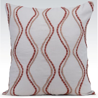 Enlace Throw Pillow Color: Natural