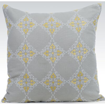 Exotic Throw Pillow Color: Mist