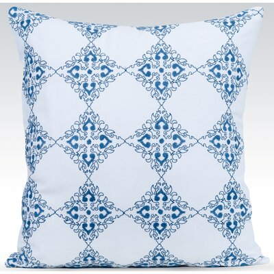Exotic Throw Pillow Color: White