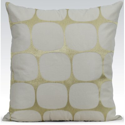 Tarn Cotton Throw Pillow Color: Cement