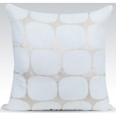 Tarn Cotton Throw Pillow Color: Ivory