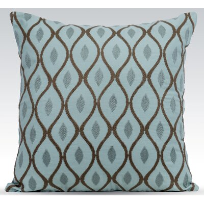 Aesthetic Throw Pillow Color: Charlotte Blue