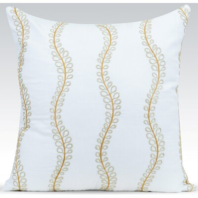 Ashley Throw Pillow Color: White
