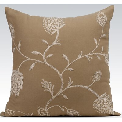 Blush Throw Pillow Color: Khaki