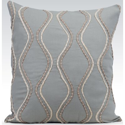 Enlace Throw Pillow Color: Mist