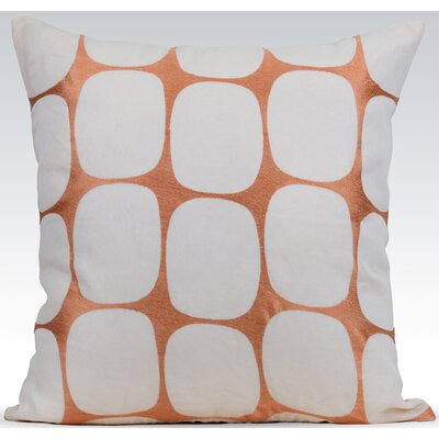 Tarn Cotton Throw Pillow Color: Seedpearl