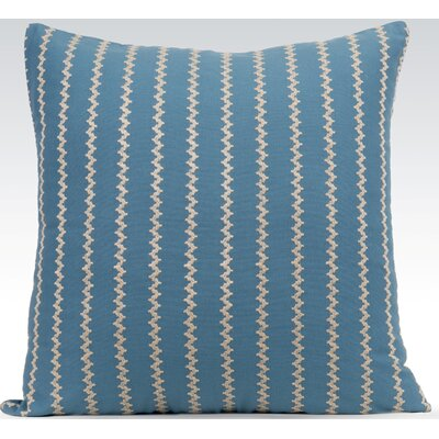 Vibrant Throw Pillow Color: Provincial Blue