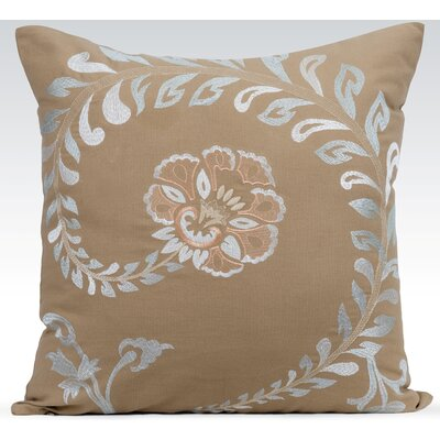 Vintage Throw Pillow Color: Khaki