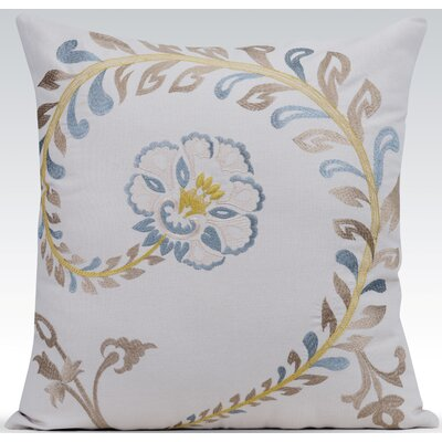 Vintage Throw Pillow Color: Natural