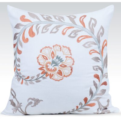 Vintage Throw Pillow Color: White