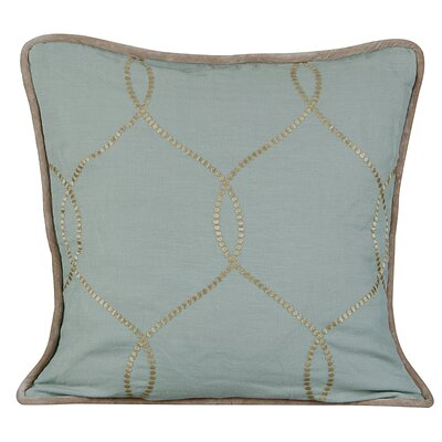Amore Linen Throw Pillow Color: Charlotte Blue