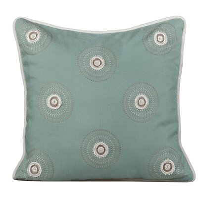 Dazzle Throw Pillow Color: Charlotte Blue
