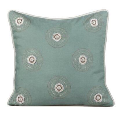 Dazzle Throw Pillow Color: Charlotte Blue