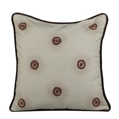 Dazzle Throw Pillow Color: Fog Green