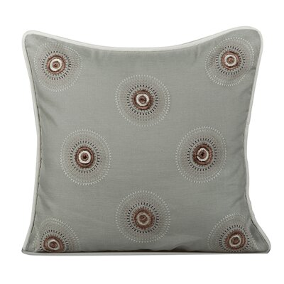 Dazzle Throw Pillow Color: Mist