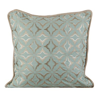 Frost Throw Pillow Color: Charlotte Blue