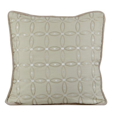 Gash Throw Pillow Color: Fog Green