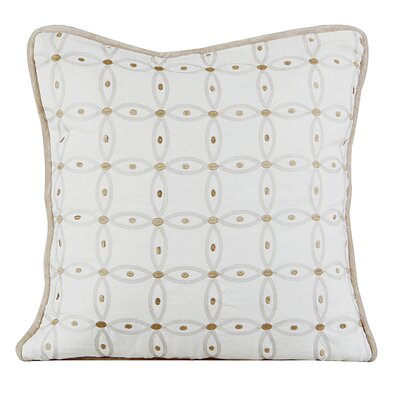 Gash Throw Pillow Color: Ivory