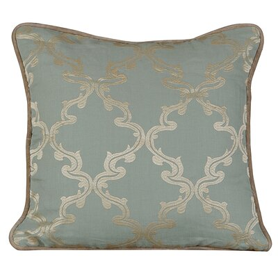 Joyous Linen Throw Pillow Color: Charlotte Blue