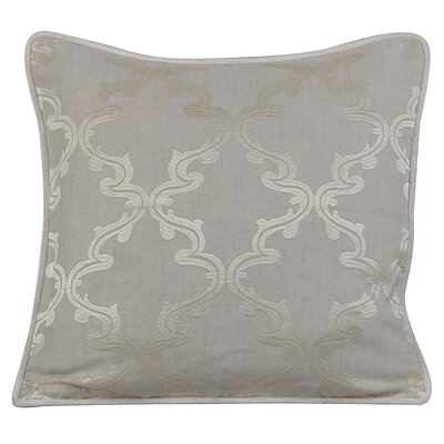 Joyous Linen Throw Pillow Color: Natural