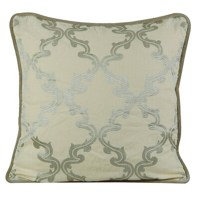 Joyous Linen Throw Pillow Color: Pastel Yellow