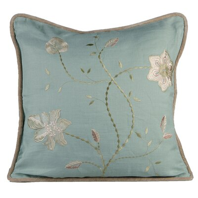 Passion Linen Throw Pillow Color: Charlotte Blue
