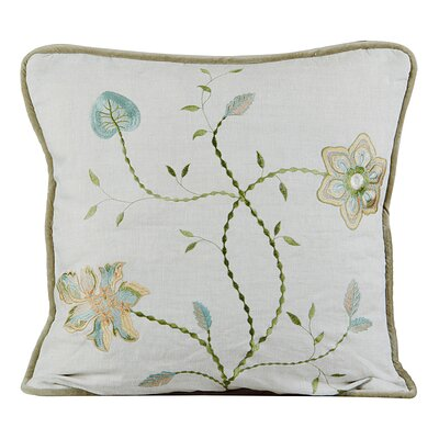 Passion Linen Throw Pillow Color: Natural
