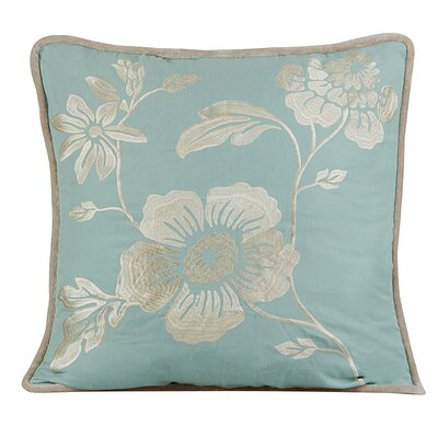 Royal Throw Pillow Color: Charlotte Blue