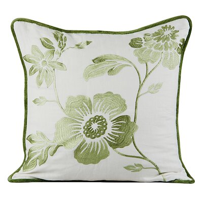 Royal Throw Pillow Color: Ivory