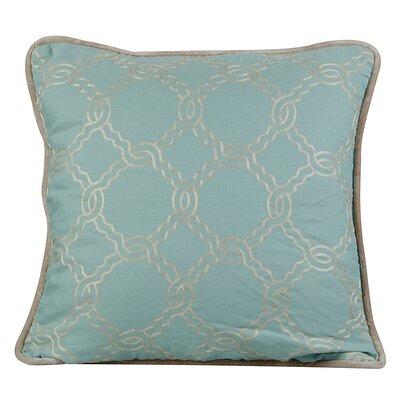 Zen Throw Pillow Color: Charlotte Blue