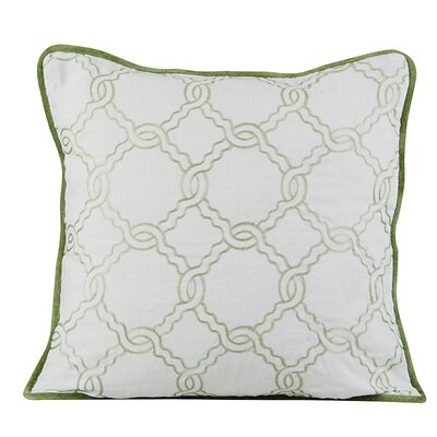 Zen Throw Pillow Color: Ivory