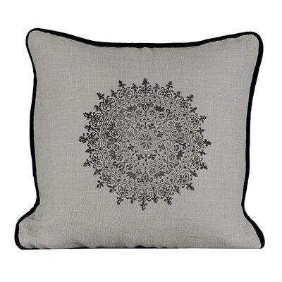 Suncrest Burlap Throw Pillow Color: Wood Ash