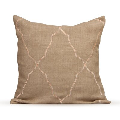 Mesmerize Burlap Throw Pillow Color: Fall Leaf