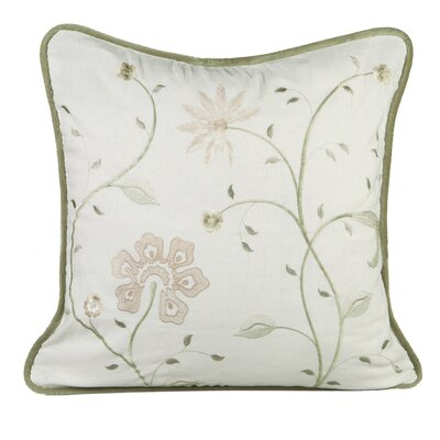 Golden Throw Pillow Color: Ivory