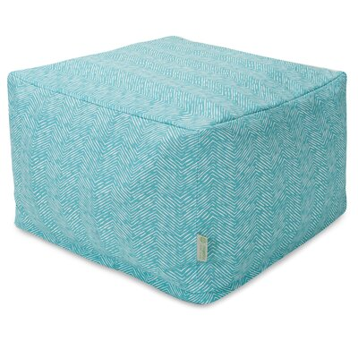 Navajo Large Ottoman Fabric: Teal