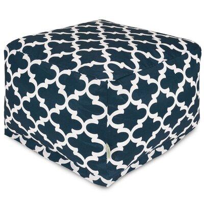 Cashwell Large Ottoman Fabric: Navy