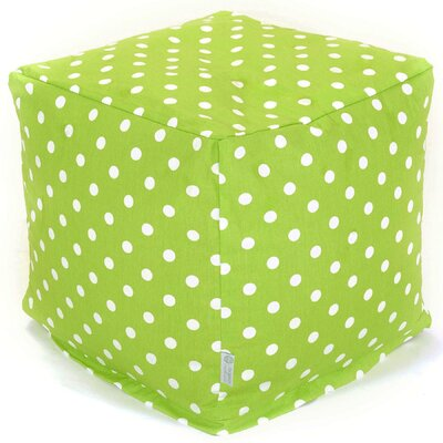 Small Cube Upholstery: Lime