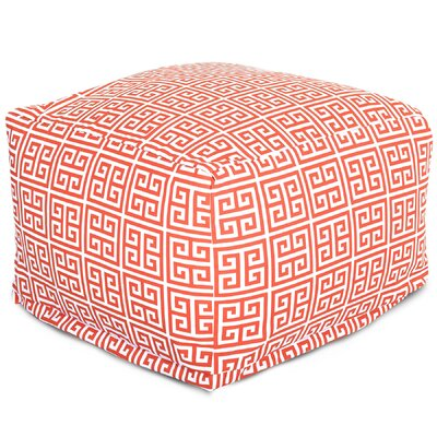 Towers Large Ottoman Fabric: Orange