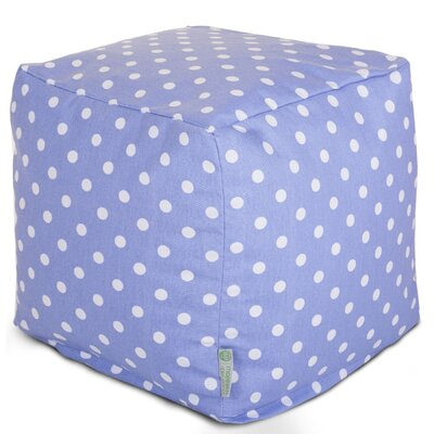 Cube Ottoman Upholstery: Lavender