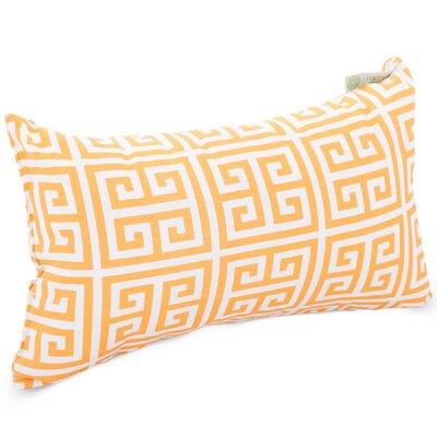Towers Indoor/Outdoor Lumbar Pillow Fabric: Citrus