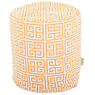 Towers Small Pouf Fabric: Citrus